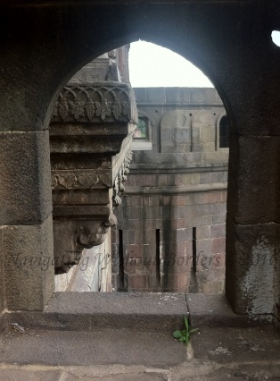 Typical embrasure to allow cannons to attack enemies